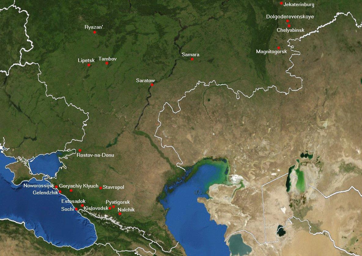 Südrussland (Sout...