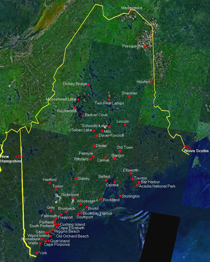 Fixing Up An Old New Englander In Maine: New England Weather Page » Crown Weather Services